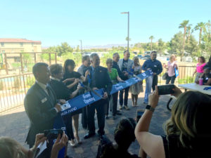 Working families, children and seniors needing assistance now may access onsite services with the opening of the Boulder Highway Collaborative Campus.