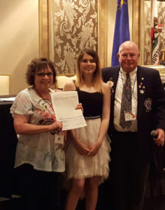 Coral Academy of Science Las Vegas (CASLV) recently announced eighth-grade student Chiara Kieper won a merit award in the Lions International Peace Poster Contest.