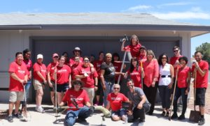 "Armed with paint, tools and new household items, Keller Williams Realty Las Vegas agents and business partners painted, repaired, and did ""extreme makeovers"" on aging housing for homeless youth who are part of Nevada Partnership for Homeless Youth's (NPHY) Independent Living Program"