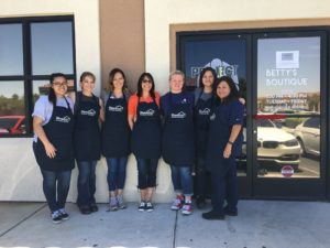 HomeAid Southern Nevada helped give homeless and disadvantaged high school students a stylish new place to shop for clothes, shoes and accessories.