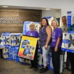 Nearly 100 Carson City seniors will beat the heat this summer courtesy of the KOLO 8 TV Fan Drive and employees of Harrah's Harveys Lake Tahoe.