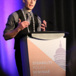 Russell Lehmann, speaker, author, poet and advocate for autism, spoke at the Association for People Supporting Employment First's 2018 national conference.