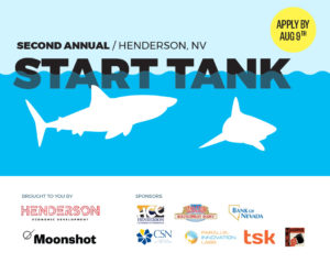 The City of Henderson in partnership with NACET is looking for entrepreneurs with the next great business idea to take the jump into the City's Shark Tank.