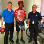 ODS Chauffeured Transportation and the Regional Transportation Commission of Southern Nevada (RTC) teamed up to spread the message on bike safety.