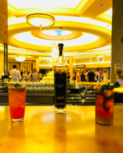 """Café Americano has curated a new cocktail, """"The Gazillionaire,"""" inspired by the host and producer of Las Vegas' most in-demand production, ABSINTHE."""
