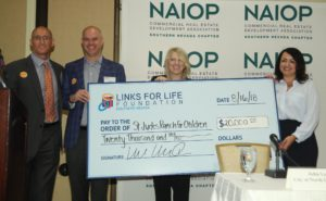 "NAIOP Southern Nevada's community project ""Getting Dirty for a Cause"" has received sizable donations for their project with St. Jude's Ranch for Children"