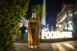Ambros Banana Whiskey, the first-ever whiskey infused with 100-percent real bananas