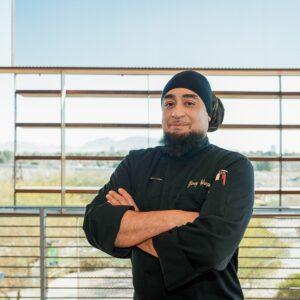 Chef Garry Velasquez, Executive Chef of Divine Events & Divine Cafe