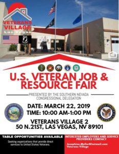 VV Job Fair Flyer