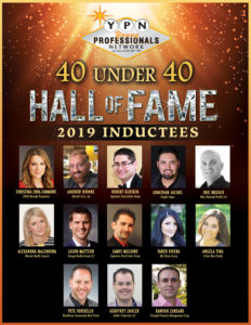 GLVAR 2019 YPN Hall of Fame honorees.