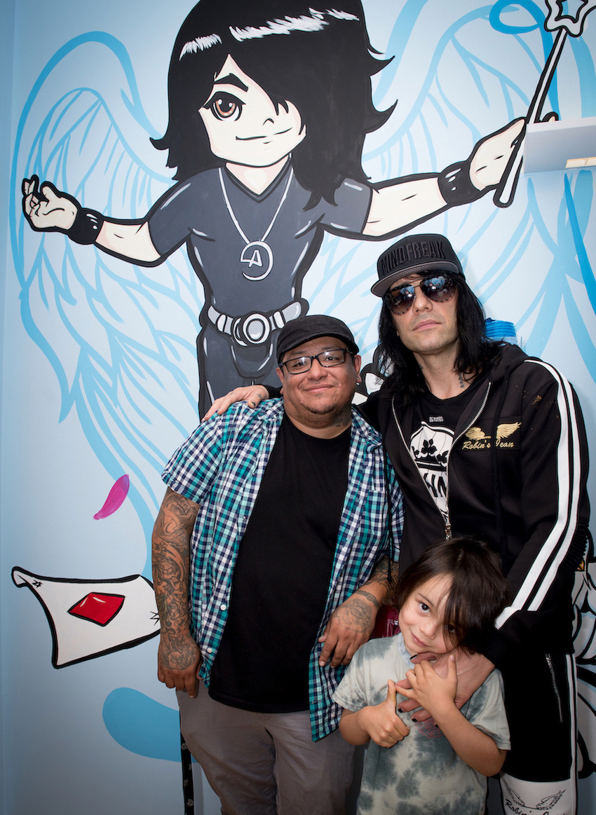 Criss Angel Debuts Themed Patient Exam Room At Cure 4 The