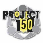 Project 150 logo