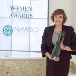 ImageWords principal Ruth Furman receives her Women of Distinction Award on May 7 at the Conference Center of Las Vegas.  (Photo credit: Mary Rendina Photography)