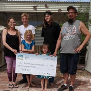 "Home At Last, ""HAL Pay My Bills"" Contest Names Mina, Nevada Family"