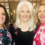Michele Volker and Ginger Allen Co-Presidents CCMSA with President and Co-Founder of Born This Way Foundation, Cynthia Germanotta