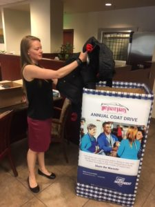 First Independent Bank : Hot August Nights Foundation Coat Drive 2019