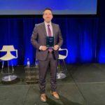 Matt Hoyt DLI Award onstage