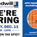 Goodwill Hiring Event - December 13 - TV-01
