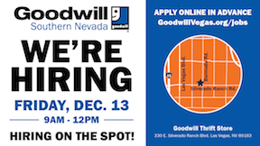 Goodwill Hiring Event - December 13 - TV-01