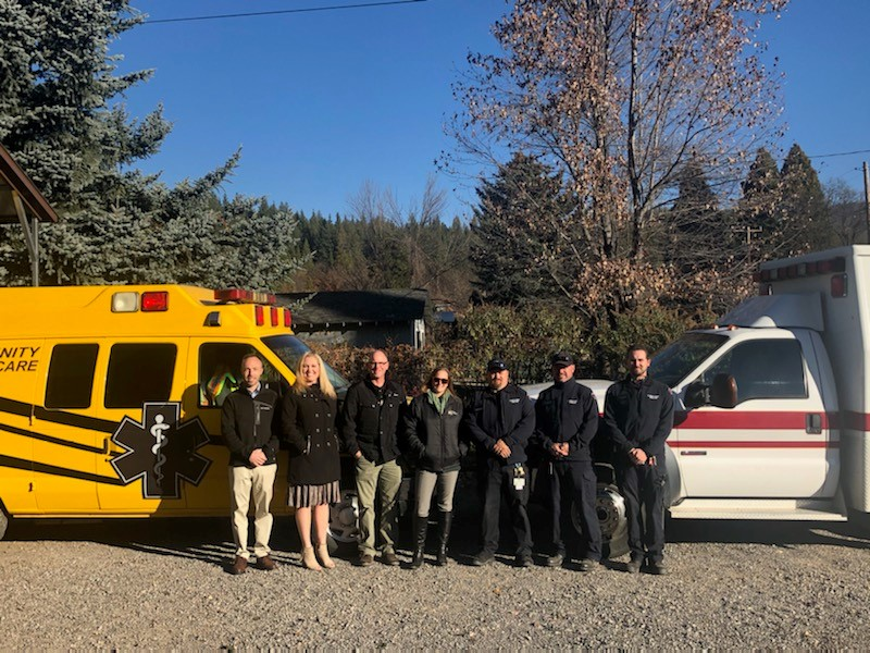 Plumas District Hospital and Care Flight announce they have been selected by the Indian Valley Ambulance Service Authority.