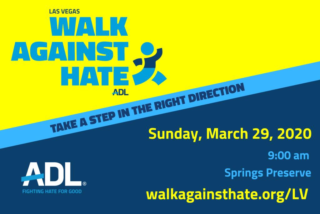 Walk Against Hate Flyer