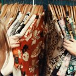 Thrift store clothing