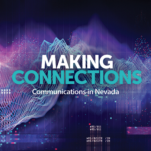 This page provides the latest feature content on Nevada Telecom from Nevada Business Magazine, plus additional resources.