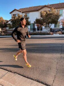 Brandon Pierce runs in the Virtual Race for Financial Freedom for JASN sm-54932c67