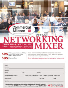 CALV is hosting its spring mixer May 13.