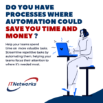 Automation can save you time and money?!