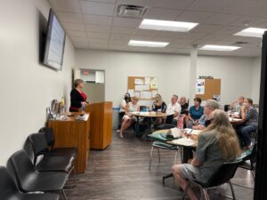 CAMCO board member training on July 19, 2021.