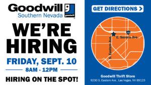 Goodwill Hiring Event - September 10 -95b9b293